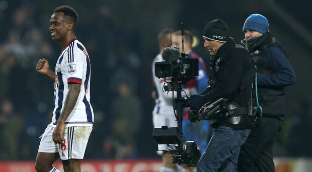 Saido Berahino inspired West Brom to a 3-2 win over Crystal Palace on Saturday