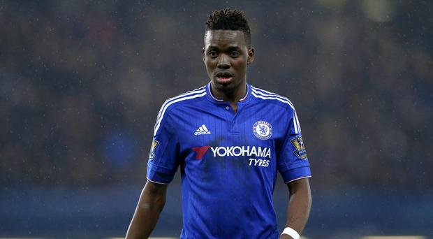 Bertrand Traore, pictured, has impressed Chelsea boss Guus Hiddink