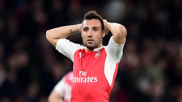 Santi Cazorla has suffered an Achilles injury