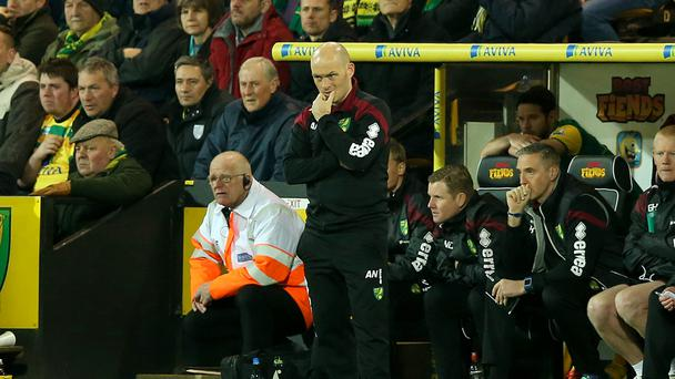Norwich boss Alex Neil was forced to endure a frustrating defeat to Chelsea