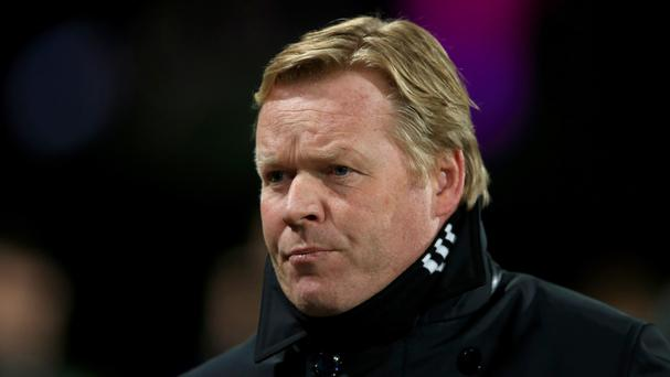 Ronald Koeman felt Bournemouth were hungrier than his Southampton team on Tuesday