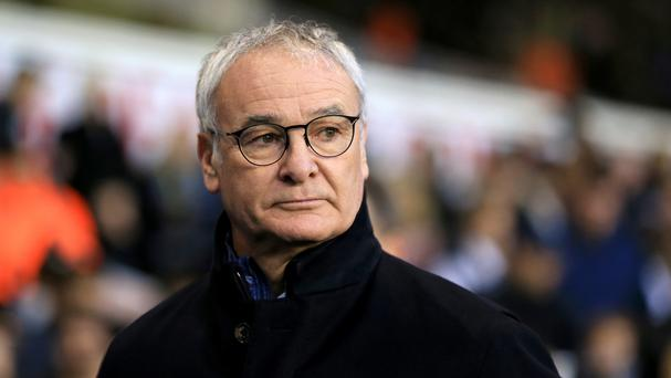 Claudio Ranieri's side could lose top spot on Wednesday