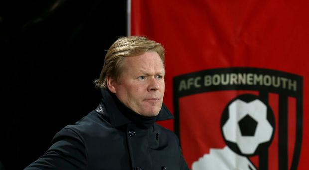 Ronald Koeman, pictured, still believes Southampton can qualify for next season's Europa League