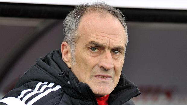 Francesco Guidolin has been admitted to hospital