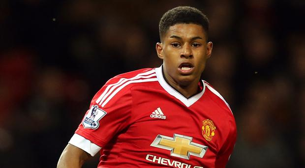 Manchester United's Marcus Rashford could not add to his goals tally against Watford