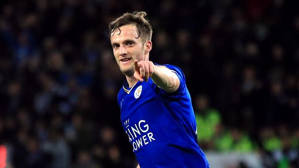 Andy King scored his first Barclays Premier League goal in 11 months during the Foxes' 2-2 draw with West Brom