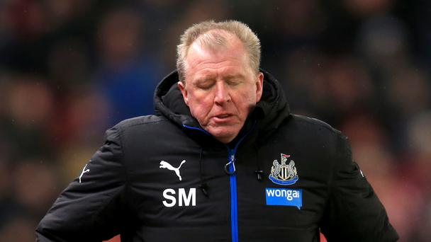 Steve McClaren was heartened by Newcastle's spirit in their loss at Stoke