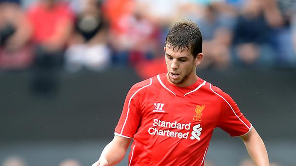Jon Flanagan, pictured, came out on top in his battle with former Liverpool team-mate Raheem Sterling