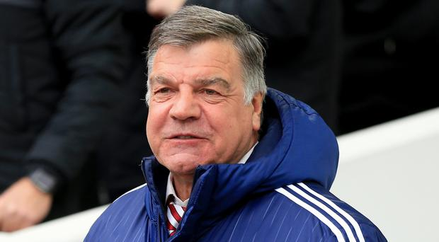 Sam Allardyce, pictured, has admitted he was 'gobsmacked' by Adam Johnson's guilty pleas
