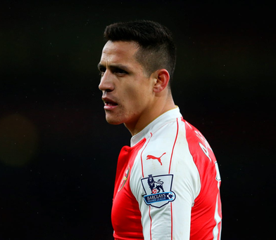 'We lack mental strength' admits misfiring Gunner Alexis Sanchez Photo: Catherine Ivill/AMA/Getty Images