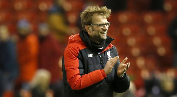 Liverpool manager Jurgen Klopp believes the top four remains within their grasp