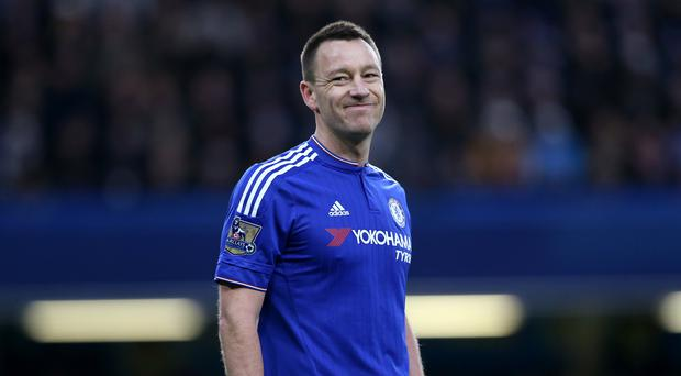 Chelsea captain John Terry is struggling with a hamstring injury