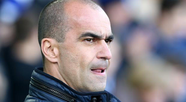 Everton manager Roberto Martinez is looking forward to a run of matches at Goodison Park