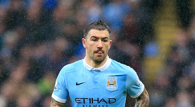 Manchester City's Aleksander Kolarov is hopeful of a late title charge