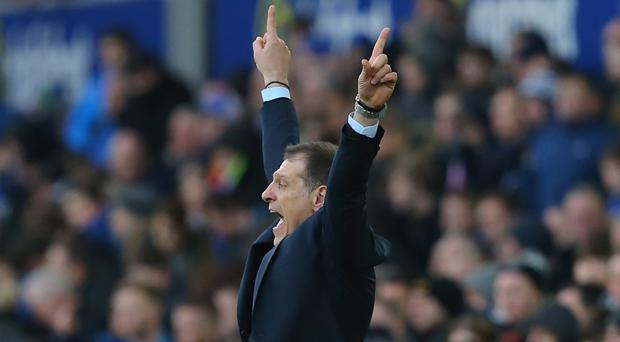 Even West Ham manager Slaven Bilic was not sure how to celebrate Dimitri Payet's dramatic last-minute winner at Everton