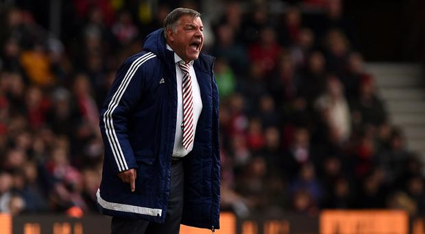 Sunderland manager Sam Allardyce was disappointed at Southampton