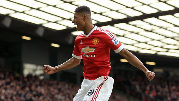 Marcus Rashford has enjoyed a meteoric rise since being catapulted into Manchester United's first team