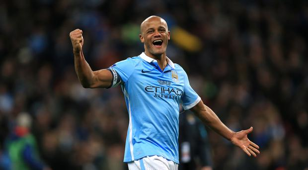Manchester City captain Vincent Kompany is convinced his side are still alive in the title race