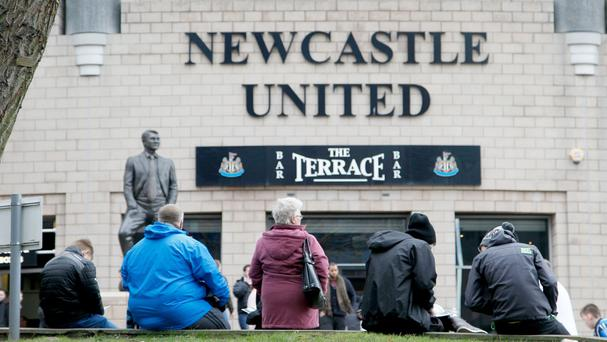 Concern is growing among Newcastle fans as the threat of relegation lingers
