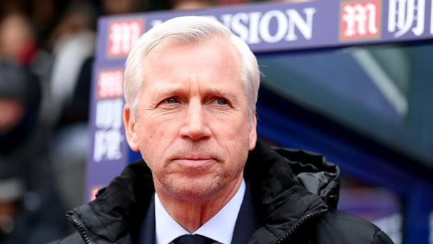 Crystal Palace manager Alan Pardew was angry at the penalty awarded to Liverpool's Christian Benteke