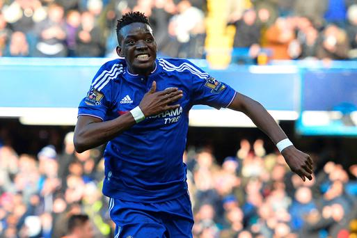 Bertrand Traore celebrates Photo: AFP/Getty