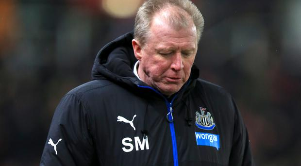 Steve McClaren is coming under increasing pressure as Newcastle boss