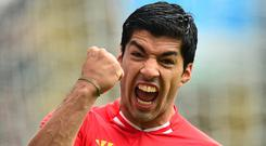 Luis Suarez scored 82 goals in his three-and-a-half seasons with Liverpool