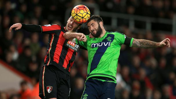 Charlie Austin, right, was injured during Southampton's recent Premier League match with Bournemouth