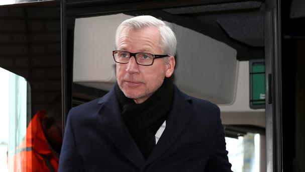 Alan Pardew was furious after the late defeat on Sunday