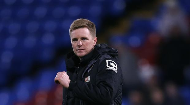 Bournemouth manager Eddie Howe has challenged his players to continue their improvement as they look to secure Barclays Premier League survival