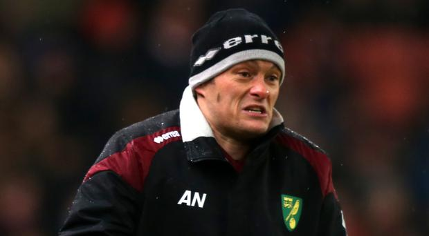 Norwich manager Alex Neil faces Manchester City on Saturday