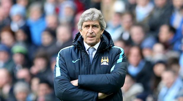 Manchester City boss Manuel Pellegrini is targeting nine wins from 10