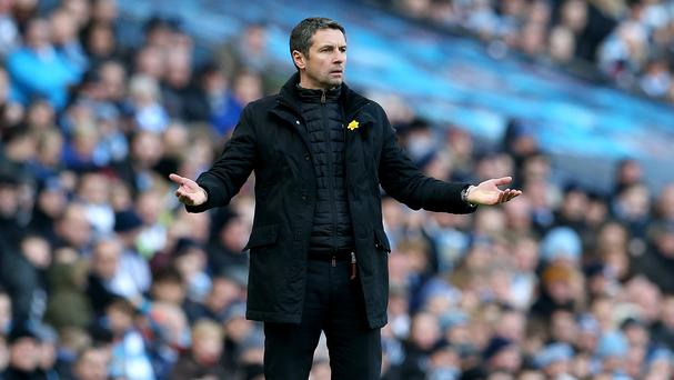 Remi Garde struggled to make an impact since arriving at Villa in November