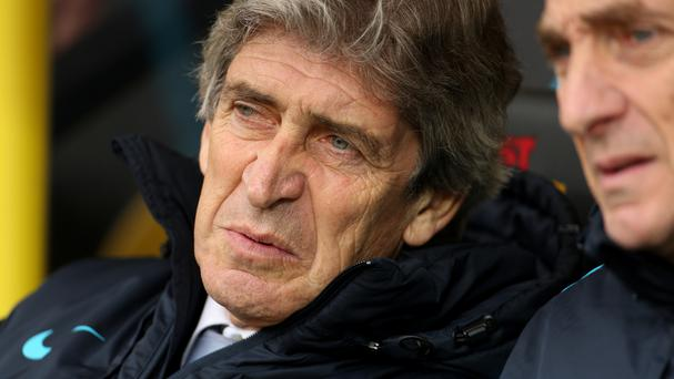 Manuel Pellegrini saw Manchester City held by Norwich