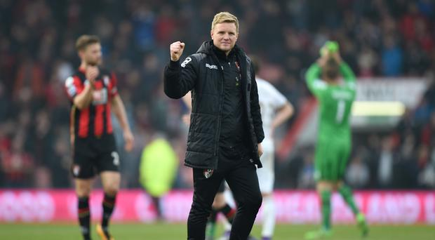 Bournemouth boss Eddie Howe insists he is not celebrating survival just yet