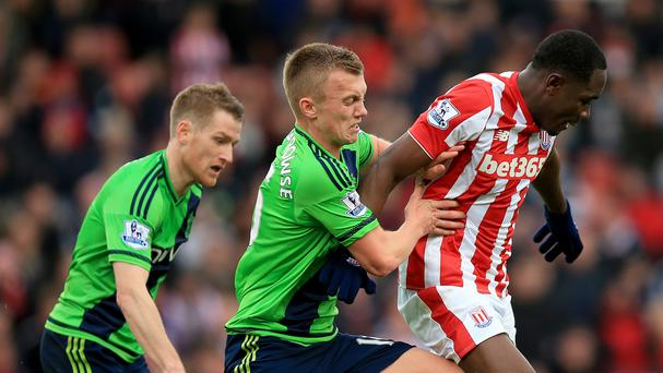 James Ward-Prowse's Southampton boosted their chances of returning to European competition at Stoke