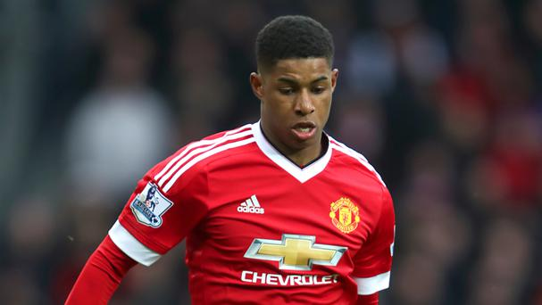 Marcus Rashford has scored four goals in six Manchester United starts