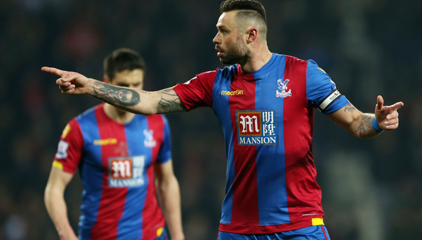Crystal Palace's Damien Delaney