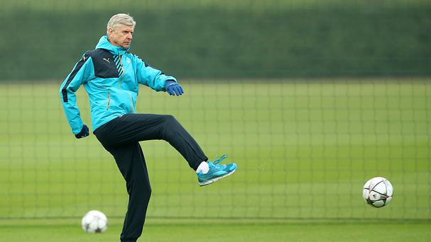 Arsene Wenger is calling for a 'solid' defensive display from his Arsenal side
