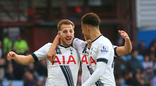 Tottenham's Harry Kane, pictured left, and Dele Alli, right, are expected to be named in the England squad on Thursday
