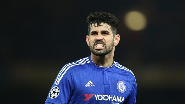 Diego Costa will not face any action for an alleged gesture towards Everton fans on Saturday