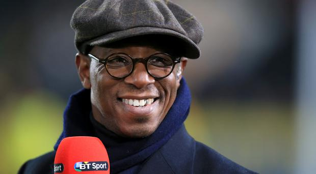 Ian Wright hit back at Collymore over his work for The Sun