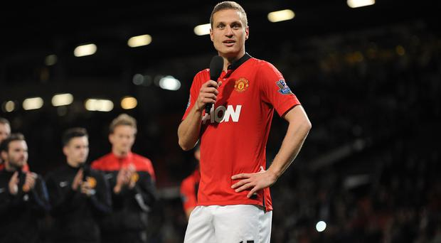 Nemanja Vidic won five Premier League titles during his time at Manchester United