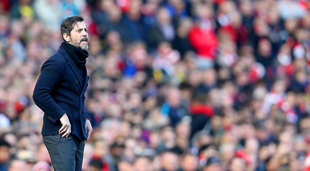 Watford manager Quique Sanchez Flores is not willing to talk about his contract until the season is complete