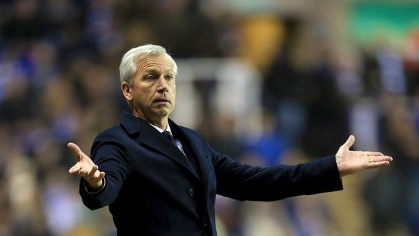 Alan Pardew wants Crystal Palace to attack Leicester when the sides meet on Saturday