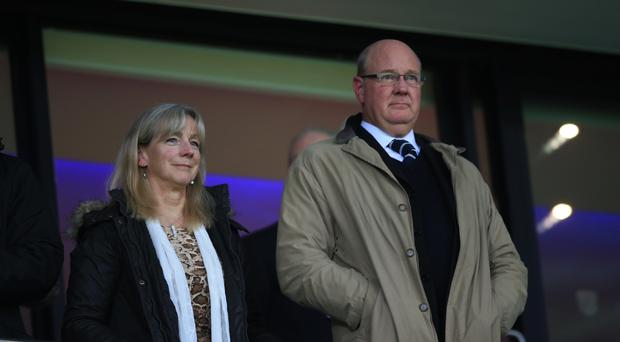 Steve Hollis, pictured right, replaced Randy Lerner as chairman at Aston Villa in January.