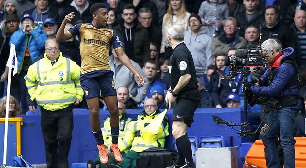 Arsenal's Alex Iwobi shone in his first top-flight start