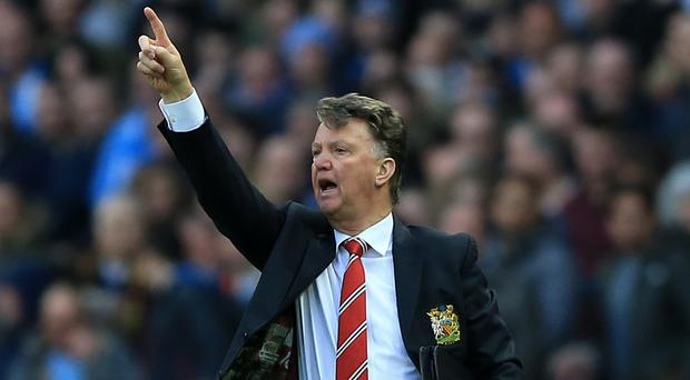 Louis van Gaal believes Manchester United have a great chance of securing Champions League football