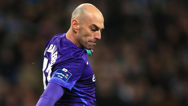 Willy Caballero joined Manchester City from Malaga two years ago