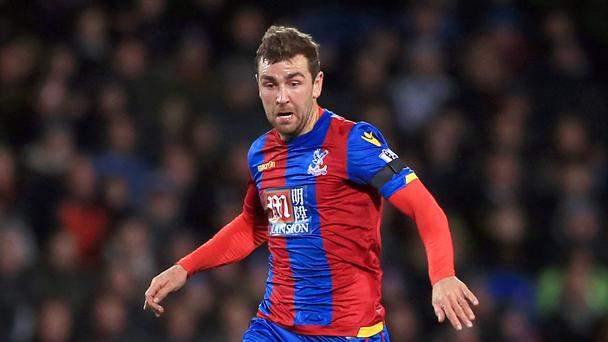 Crystal Palace's James McArthur has been out injured since February